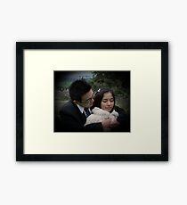 Snuggle Framed Print