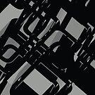 Abstrakter futuristischer Hintergrund X. 13 von tamaya111