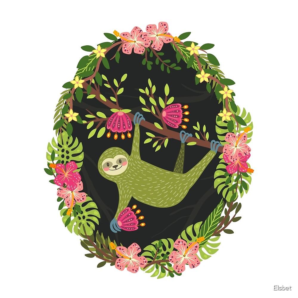 Sloth by Elsbet