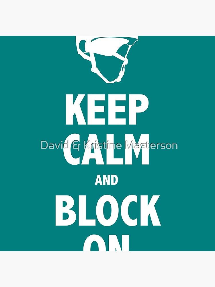 Block On Print von KustomByKris