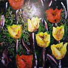 Tulip entourage by Tanisha Jowsey