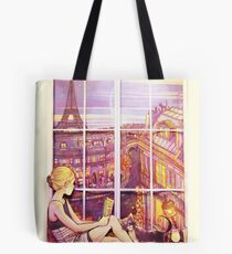 A Window to Paris Tote Bag