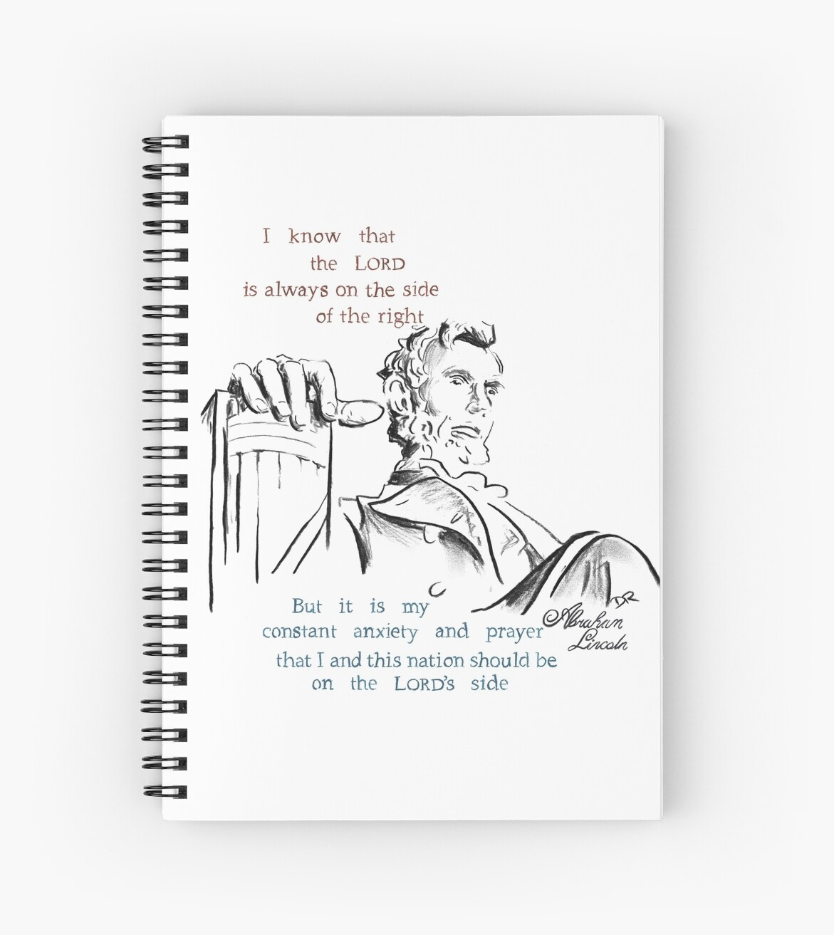 Abraham Lincoln Picture Quote - The Nation by Douglas Rickard