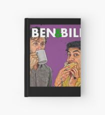 Ben & Bill - Hot Dogs and Coffee Hardcover Journal