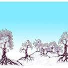 Winter Trees by Nik Usher