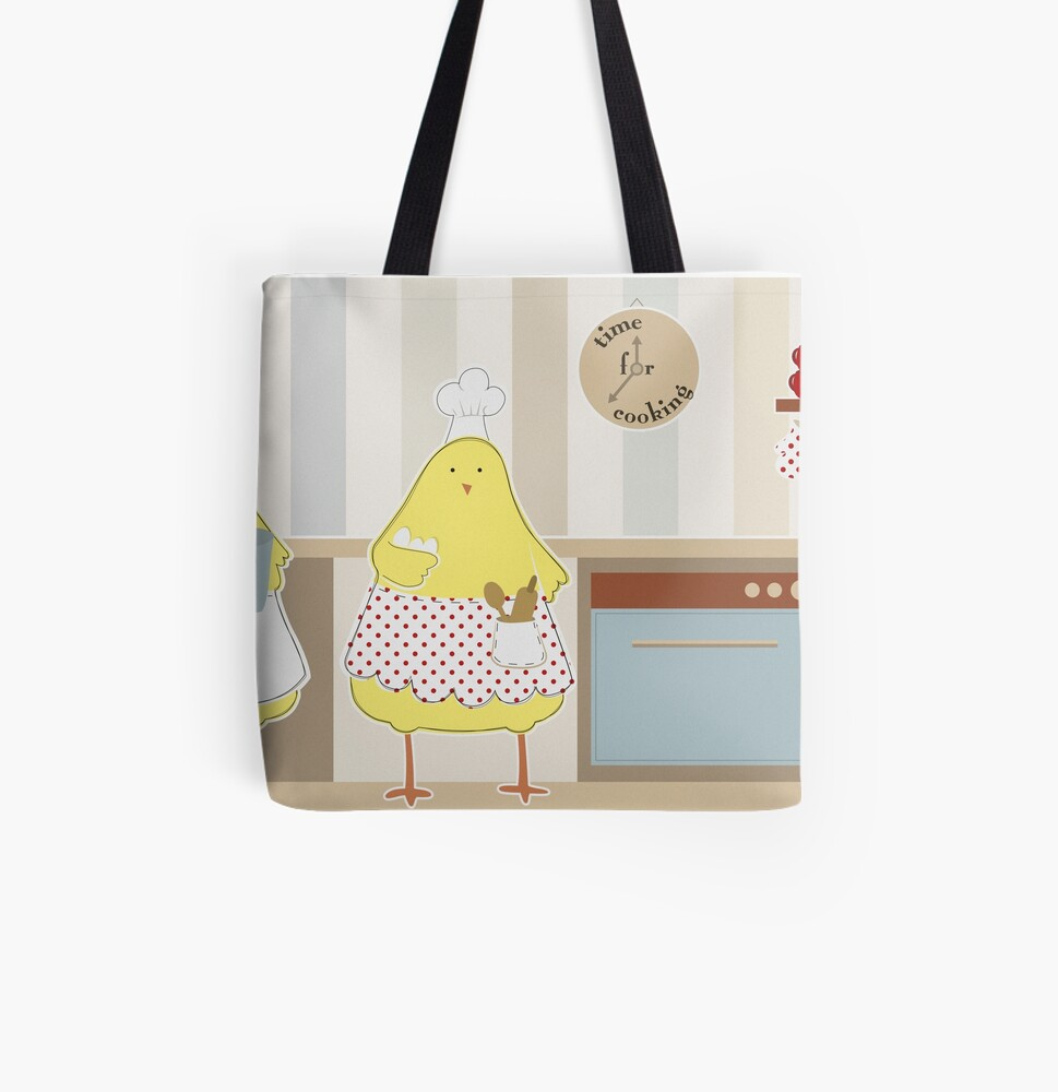 Time For Cooking All Over Print Tote Bag