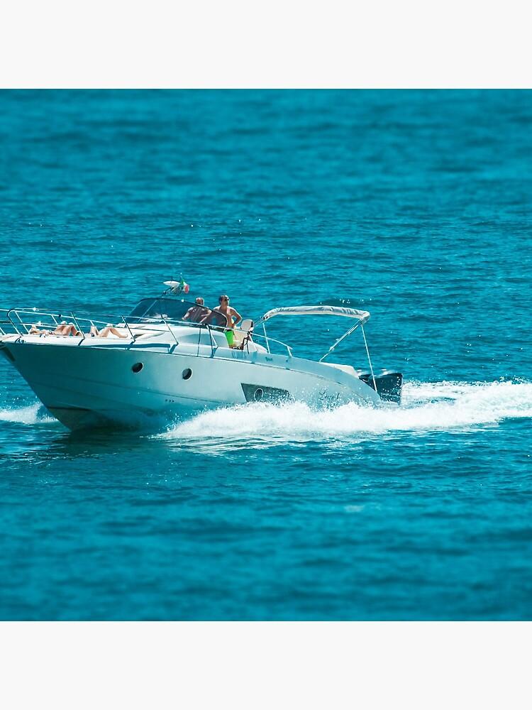 boat on the lago maggiore (001) by dirkhinz