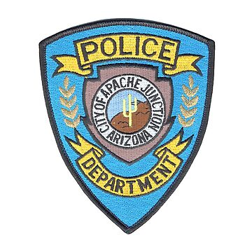 Apache Junction Police by lawrencebaird