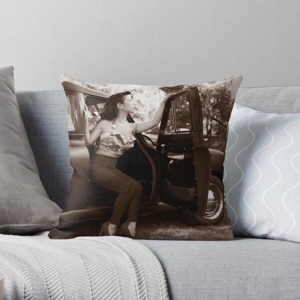 Anna Mei 2 Throw Pillow