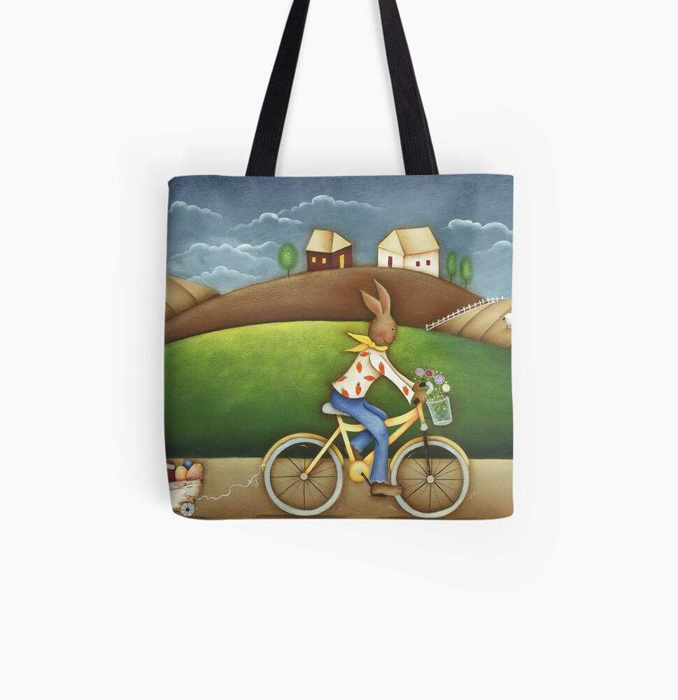 Easter Deliveries All Over Print Tote Bag