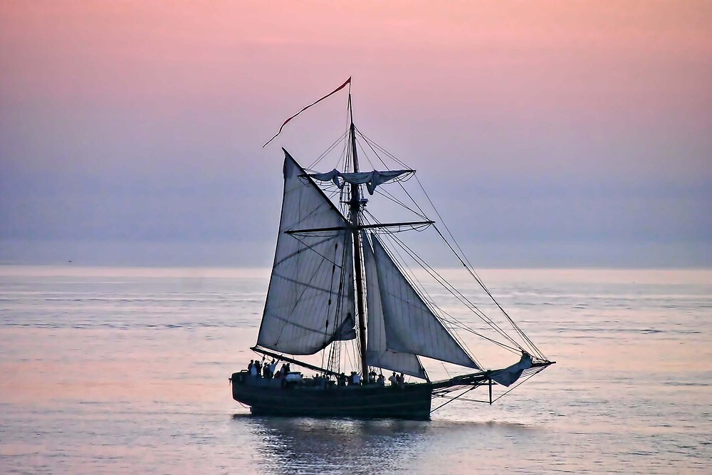 South Haven Ship by Dave Nielsen