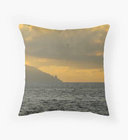 La Gomera from Tenerife Throw Pillow