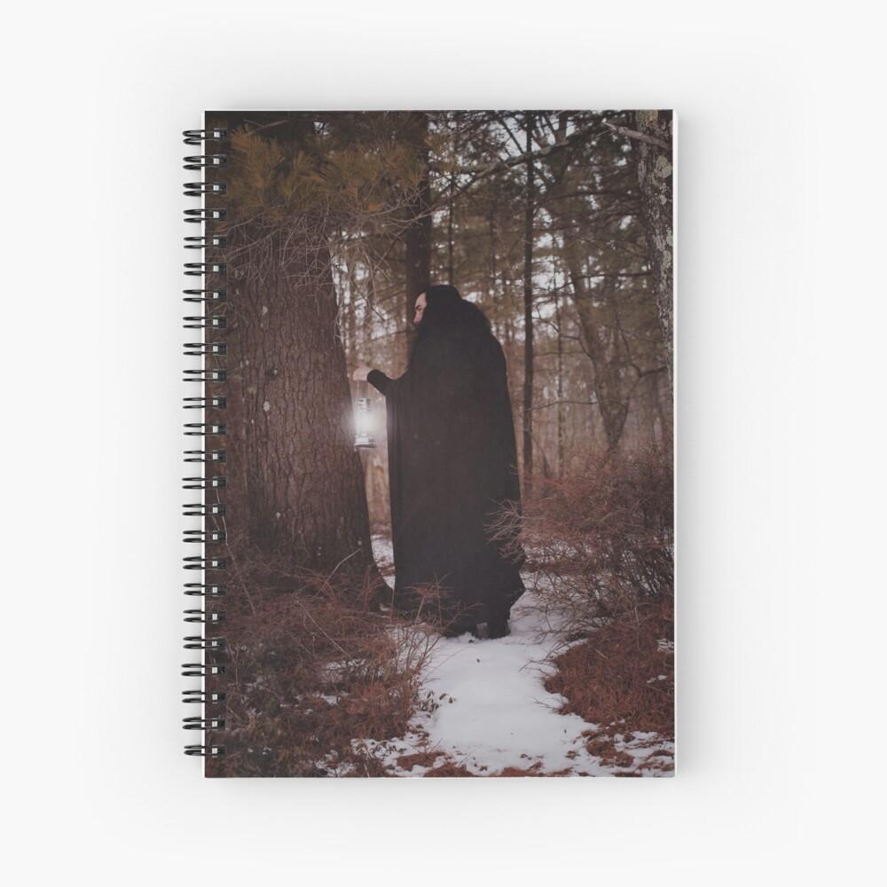 The Hermit Spiral Notebook