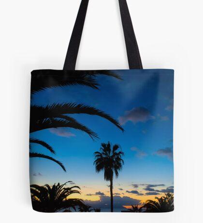 Sunset in Tenerife Tote Bag
