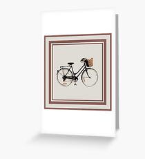 Lots of bicycles Greeting Card