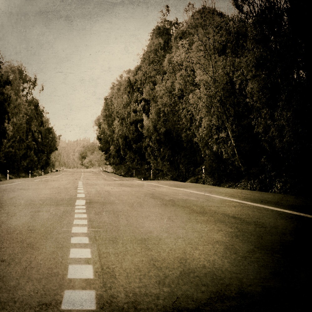 line of road by Victor Bezrukov
