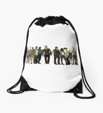 The Walking Dead Cast Drawstring Bag