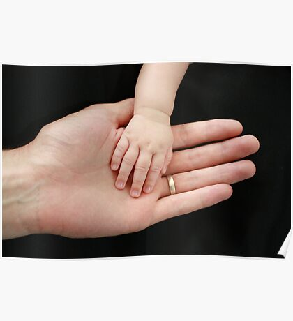 A Father's Hand Poster