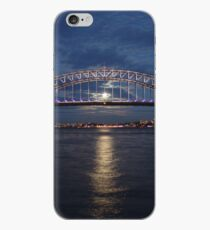 Moon rise over Sydney iPhone Case