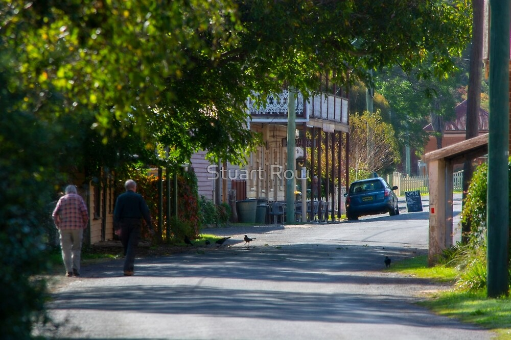 Streets of Sofala by Stuart Row