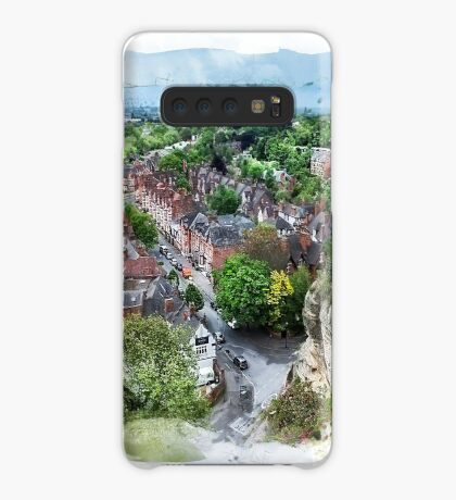 Nottingham city watercolor  Case/Skin for Samsung Galaxy