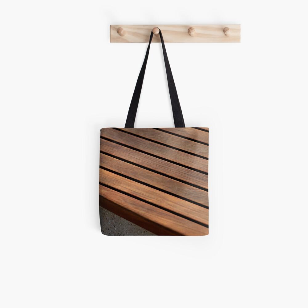 Teak Tote Bag