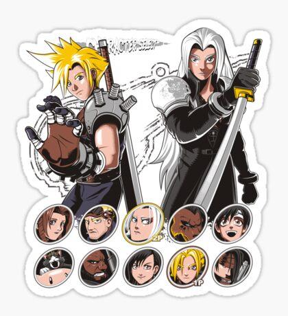 MIDGAR FIGHTER Sticker
