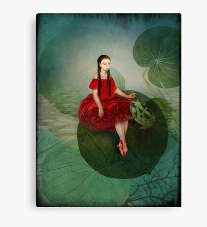 Thumbelina (Däumelinchen) Canvas Print