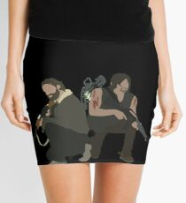 Daryl Dixon and Rick Grimes - The Walking Dead Mini Skirt