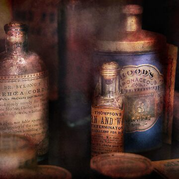 Pharmacist - Medicine for Diarrhea and Burns  by mikesavad