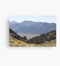 Looking Down from the Crossbow Canvas Print