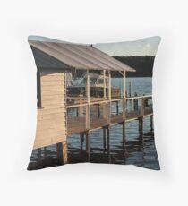 Wagonga Inlet Throw Pillow