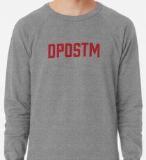 DPOSTM Red Logo Lightweight Sweatshirt