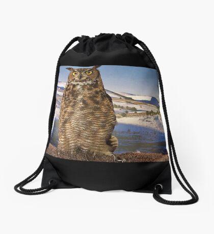 """""""Here's lookin' at you kid!"""" Drawstring Bag"""