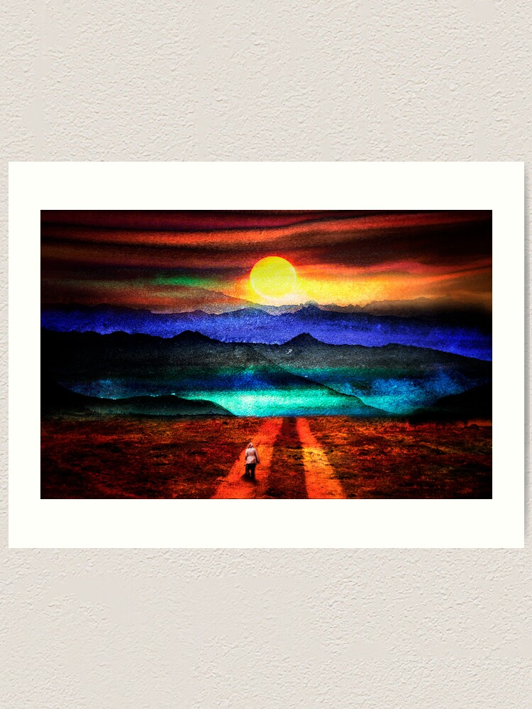 Alternate view of Going Home Art Print