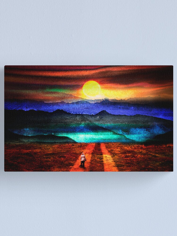 Alternate view of Going Home Canvas Print