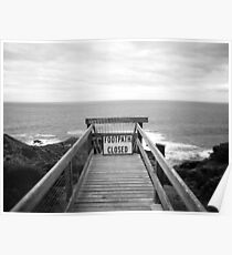 Cape Schanck: Footpath closed Poster