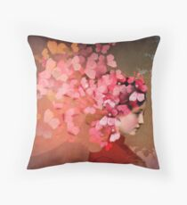 Friendship 2 Throw Pillow