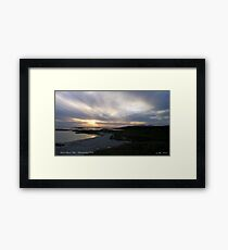 Sanna Bay   Ardnamurchan Point Framed Print