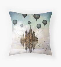 Journey to the East Throw Pillow
