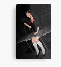 Jap Girl Metal Print