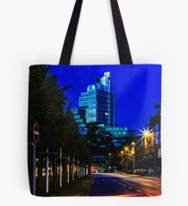 blue hour at friedrichswall (2) Tote Bag