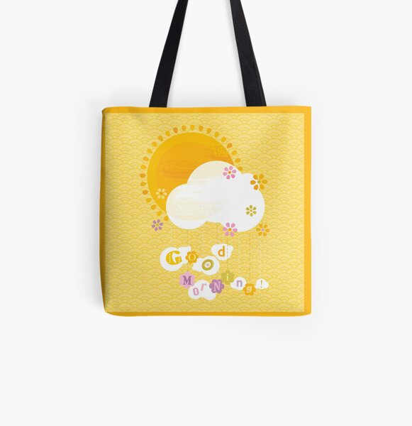 Good Morning! All Over Print Tote Bag