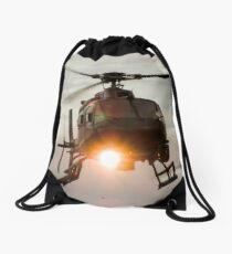 ABC Helicopter Drawstring Bag