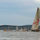 Wild Oats XI crosses the line by Derwent-01
