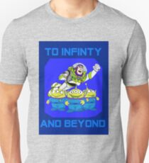 Toy Story Buzz Lightyear To Infinty And Beyond T-Shirt
