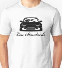 Low Standards Decal - Black T-Shirt