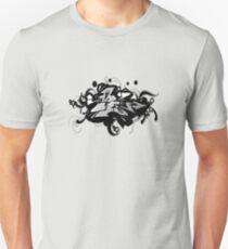 Black graffiti Unisex T-Shirt