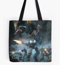 Survival of the fittest print Tote Bag