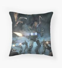 Survival of the fittest print Throw Pillow